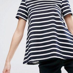 ASOS Swing Striped T-Shirt